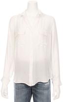 L'Agence Margaret Two Pocket Star Shirt