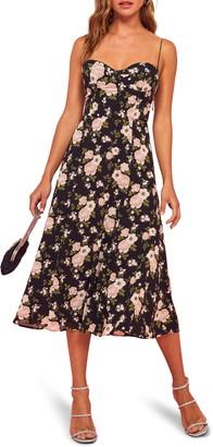 Reformation Evangelista Fit & Flare Dress