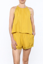 Honeybelle honey belle Mellow Yellow Top