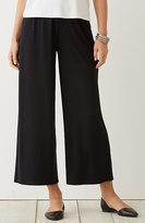 J. Jill Wearever Pleated Cropped Trousers