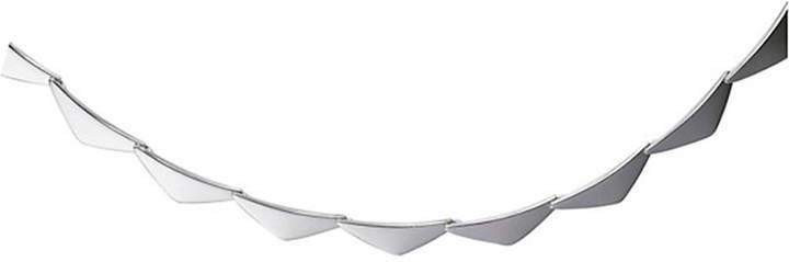 Georg Jensen Peak sterling silver necklace