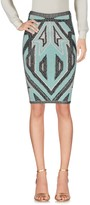 Herve Leger Knee length skirts