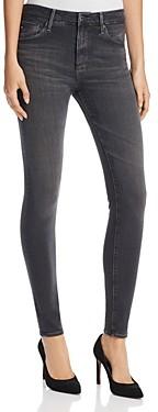 AG Jeans Farrah High Rise Skinny Jeans in Grey Mist