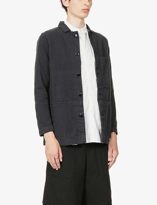 Toogood Carpenter collared patch-pocket cotton jacket