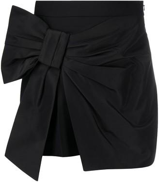 Alexander McQueen High-Waisted Bow Skirt
