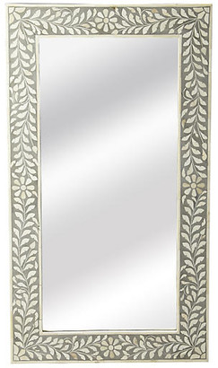 One Kings Lane Ana Wall Mirror - Gray