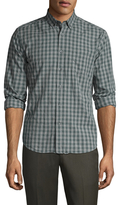 Life After Denim Cotton Das Checkered Slim Fit Sportshirt