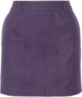 Tomas Maier Brushed-cotton mini skirt