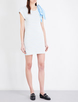 Claudie Pierlot Timber striped jersey dress