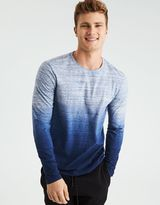American Eagle Outfitters AE Flex Dip Dye Long Sleeve T-Shirt