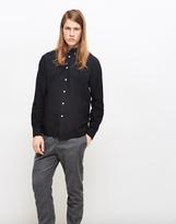 Soulland Goldsmith Oxford Shirt Black