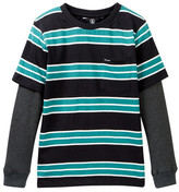 Volcom Pacific Crew Long Sleeve Tee (Toddler & Little Boys)