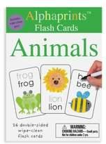 Macmillan Alphaprints: Wipe Clean Flash Cards Animals
