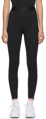 Alexander Wang Black Stretch Compact Leggings