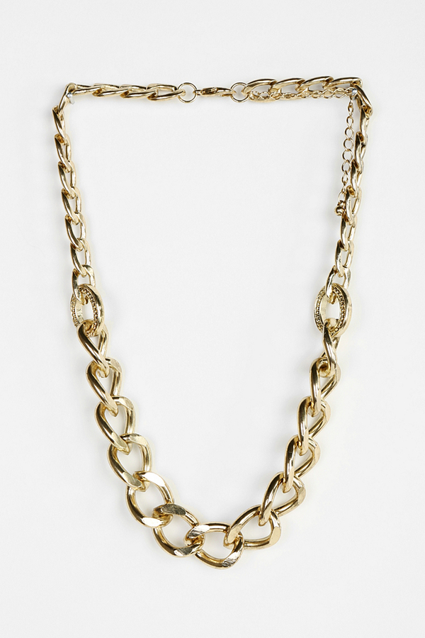 Urban Outfitters Wolf Mountain Chain Necklace