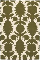 Thomas Paul Flock Wool Dhurrie Rug