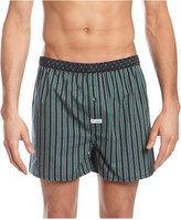 Mitch Dowd Contrast Stripe Yarn Dyed Woven Boxer