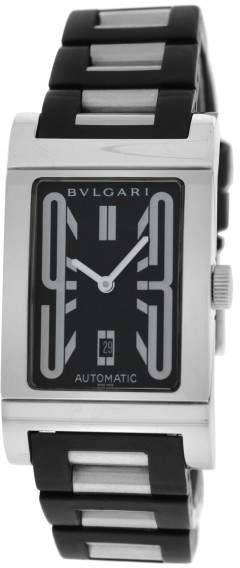 Bulgari Rettangolo RT45S Stainless Steel Automatic 26mm Unisex Watch