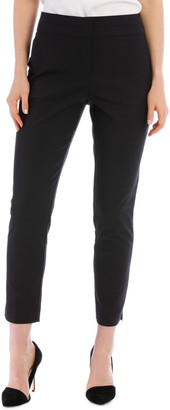 Basque Cotton Sateen Ankle Grazer Pant