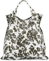Jil Sander floral print shopping bag - women - Calf Leather - One Size
