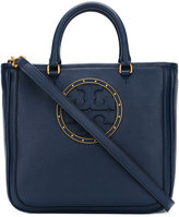 Tory Burch square logo shoulder bag - women - Leather/Calf Leather - One Size