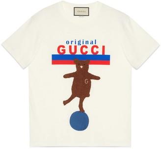 "Gucci ""Original oversize T-shirt with bear"