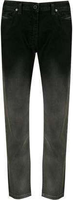 Diesel Black Gold gradient straight jeans