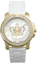 Juicy Couture 'Pedigree' Jelly Strap Watch
