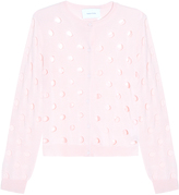 Simone Rocha Punch-Hole Cardigan