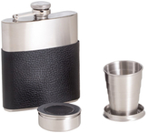 Bey-Berk Stainless Steel Flask Gift Set (3 PC)