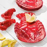 Sur La Table Lobster Melamine Plates, Set of 4