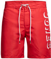 Jack and Jones Men's Classic Board Shorts - Racing Red