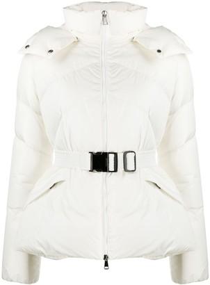 Moncler Chevron-Quilt Puffer Jacket