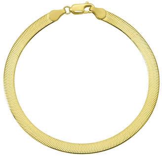 FINE JEWELRY Solid Herringbone Chain Bracelet