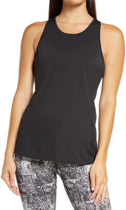 Zella Nova Perforated Racerback Tank