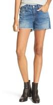 Rag & Bone Women's Boyfriend Cutoff Denim Shorts