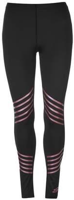 Skechers Stripe Tights Ladies