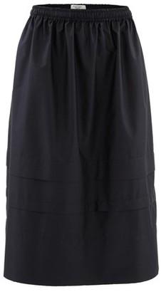 Atlantique Ascoli Midi skirt in cotton