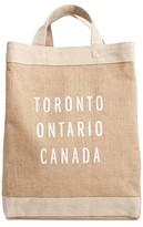 Apolis Toronto Simple Market Bag - Brown