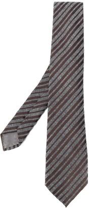 Emporio Armani Adjustable Striped Tie