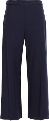 Rebecca Taylor Cropped Cady Wide-leg Pants