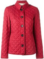 Burberry quilted house check lining jacket - women - Cotton/Polyester - XL