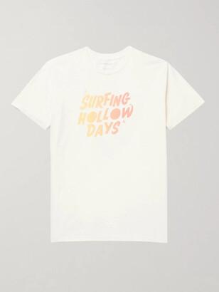 Outerknown Logo-Print Organic Cotton-Jersey T-Shirt