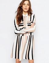 Vila Stripe Drop Waist Dress
