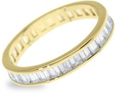 Sterling Forever Gold Vermeil Sterling Silver & Cubic Zirconia Stackable Ring