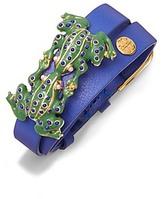 Tory Burch Double-Wrap Frog Bracelet