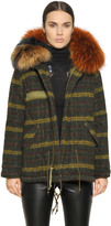 Check Boiled Wool Parka With Murmansky
