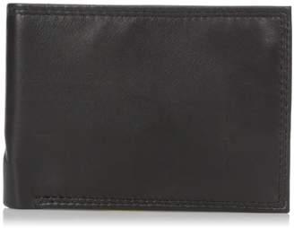 Buxton Men's Emblem Double Id Billfold Wallet