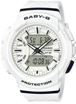 G-Shock Runners Baby-G Lap Timer Analog and Digital Strap Watch