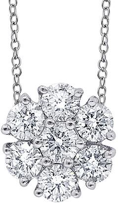 Diana M Fine Jewelry 18K 0.56 Ct. Tw. Diamond Necklace